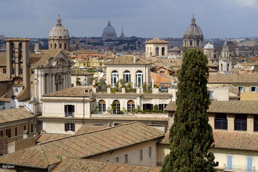 Rome depuis le musée du Capitole jfl 01