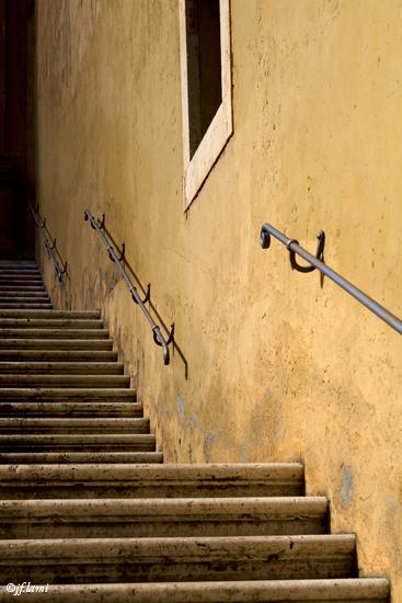 Ruelle à l'entrée du Musée du Capitole Rome jfl 02